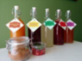 Water Kefir in Various Flavors HK Prbiotics Bangkok