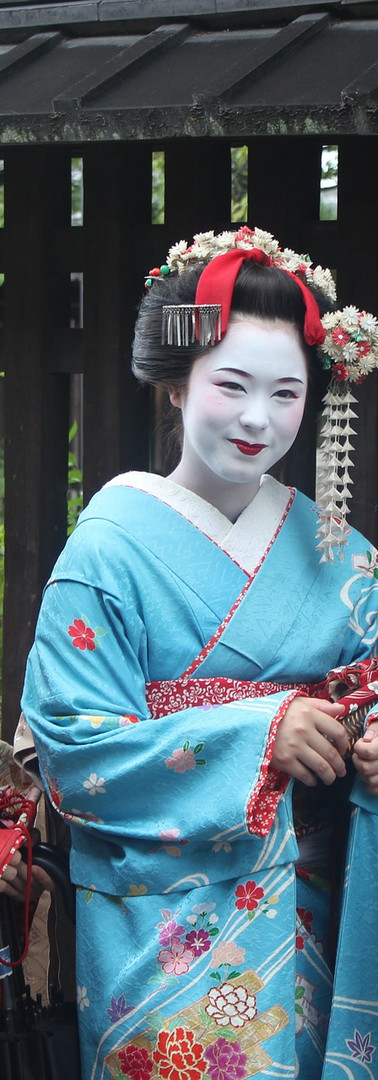 Reiki in Kyoto, Japan – Geisha in Gion