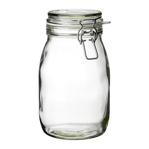 1.8L Jar with Clamp Lid
