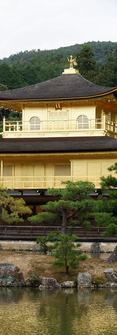 Reiki in Kyoto, Japan – Golden Temple