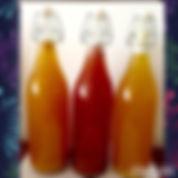 Water Kefir in Various Flavor