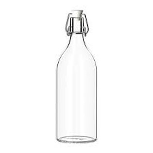 1L Airtight flip top bottle ideal for  2nd Ferment