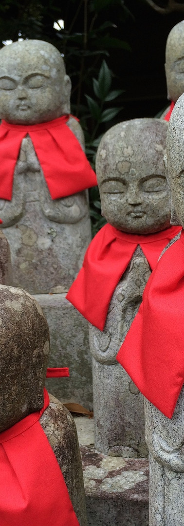 Reiki in Kyoto, Japan – Buddhist figures