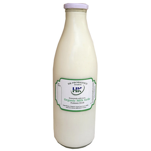 Grass-fed Organic Milk Kefir - 1L Bottle