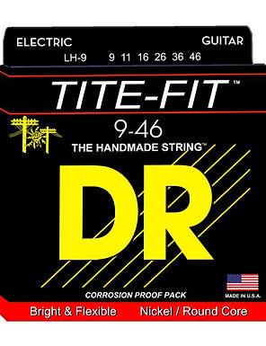 DR Guitarra Eléctrica 6 Cuerdas TITE-FIT 09-46