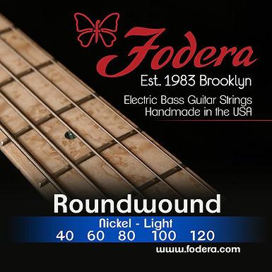 FODERA Bajo Eléctrico 5 Cuerdas NICKEL LIGHT 40-120