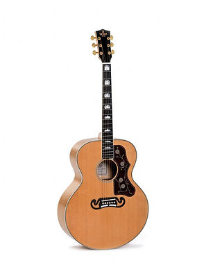 SIGMA Guitarra Electroacústica Grand Jumbo GJA-SG200 Natural Fishman