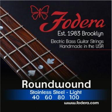 FODERA Bajo Eléctrico 4 Cuerdas STAINLESS STEEL LIGHT 40-100