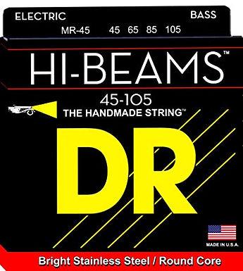 DR Bajo Eléctrico 4 Cuerdas HI-BEAMS 45-105