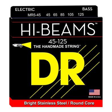 DR Bajo Eléctrico 5 Cuerdas HI-BEAMS 45-125