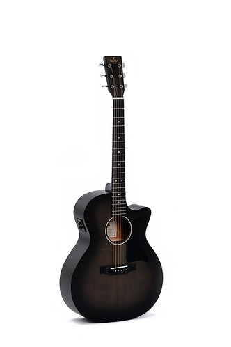 SIGMA Guitarra Folk E/A Grand OM GMC-STE+ BKB Fishman Isys+