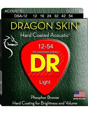 DR Guitarra Acústica 6 Cuerdas DRAGON SKIN PHOSPHOR BRONZE 12-54