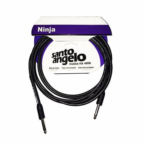 SANTO ANGELO Cable Instrumento OFC NINJA 4.57M - Plug 1 Recto 1 L