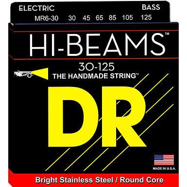 DR Bajo Eléctrico 6 Cuerdas HI-BEAMS 30-125