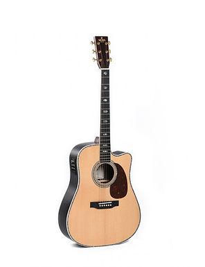 SIGMA Guitarra Electroacústica Dreadnought DTC-41E+ Fishman Presys