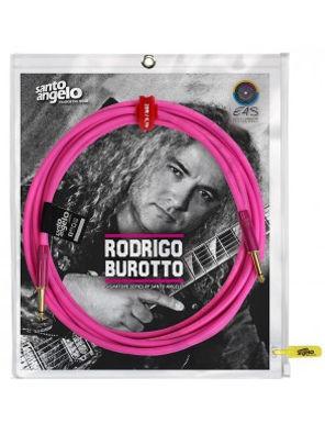 SANTO ANGELO Cable Instrumento OFC RODRIGO BURROTO 6.10M - 2 Plug Rectos