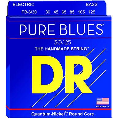 DR Bajo Eléctrico 6 Cuerdas PURE BLUES 30-125