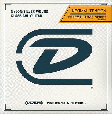 DUNLOP Guitarra Acústica 6 Cuerdas PERFORMANCE SERIES Nylon Tensión Normal