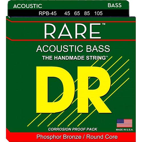 DR Bajo Acústico 4 Cuerdas RARE Medium 45-105