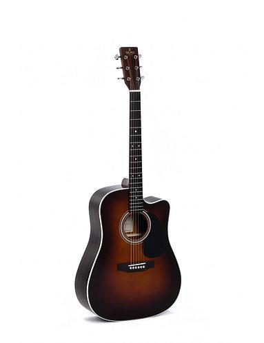 SIGMA Guitarra Electroacústica Dreadnought DTCE-1STE+ Sigma Soundhole