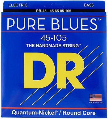 DR Bajo Eléctrico 4 Cuerdas PURE BLUES 45-105