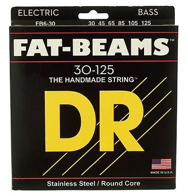 DR Bajo Eléctrico 6 Cuerdas FAT-BEAMS 30-125