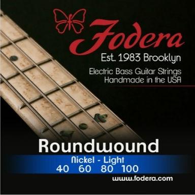 FODERA Bajo Eléctrico 4 Cuerdas NICKEL LIGHT 40-100