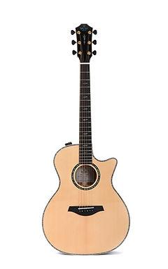 SIGMA Guitarra Electroacústica Grand OM SGBCE-5 Fishman