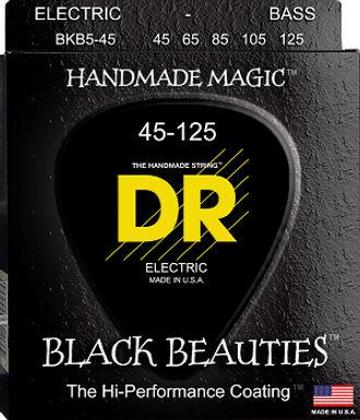 DR Bajo Eléctrico 5 Cuerdas BLACK BEAUTIES 45-125