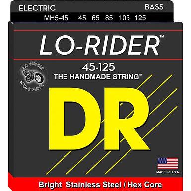 DR Bajo Eléctrico 5 Cuerdas LO-RIDER 45-125