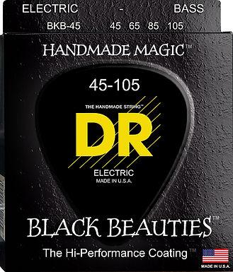 DR Bajo Eléctrico 4 Cuerdas BLACK BEAUTIES 45-105