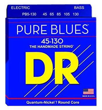 DR Bajo Eléctrico 5 Cuerdas PURE BLUES 45-130