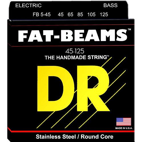 DR Bajo Eléctrico 5 Cuerdas FAT BEAMS 45-125