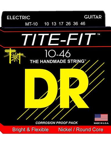 DR Guitarra Eléctrica 6 Cuerdas TITE-FIT 10-46
