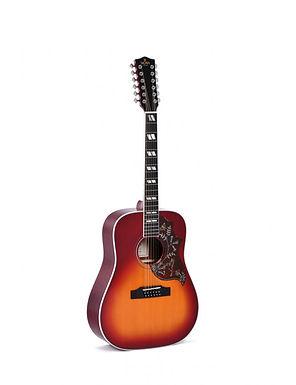 SIGMA Guitarra Electroacústica Dreadnought 12 Cuerdas DM12-SG5+ Fishman Sonitone