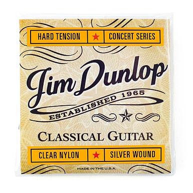 DUNLOP Guitarra Acústica 6 Cuerdas CONCERT SERIES Nylon Alta Tensión