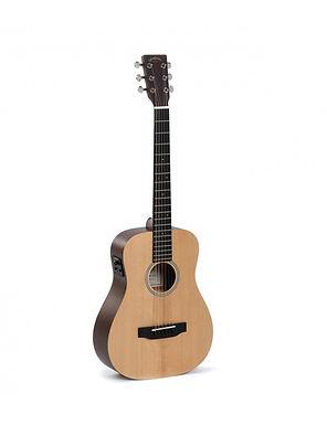 SIGMA Guitarra Electroacústica Travel TM-12E Fishman Isys + Funda