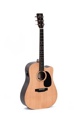 SIGMA Guitarra Folk E/A Dreadnought DTCE+ 3EQ Afinador