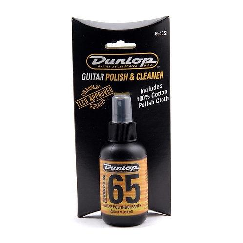 DUNLOP Formula 65 - Limpiador y Abrillantador de Instrumento 118 ml + Paño