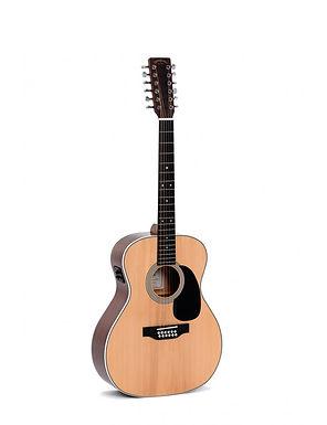 SIGMA Guitarra Electroacústica Jumbo 12 Cuerdas JM12-1STE Fishman