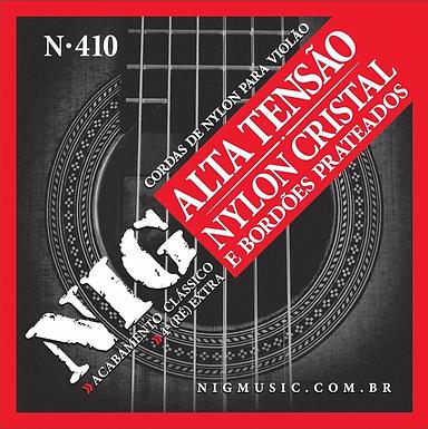 NIG Guitarra Acústica 6 Cuerdas NYLON Alta Tensión