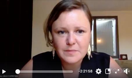 Facebook-live de Fanny Grau Coppieters