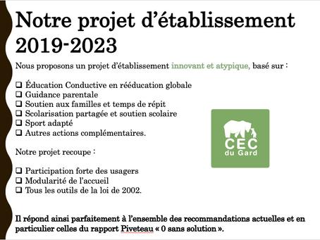 """La journée """"portes ouvertes"""" à l'occasion des 5 ans du CEC du Gard"""