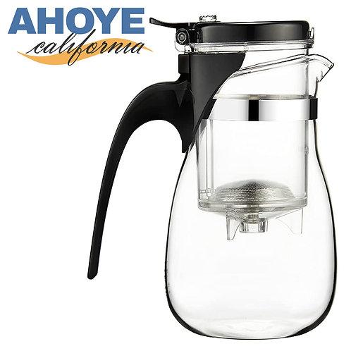 750mL耐熱玻璃泡茶飄逸杯 泡茶壺 濾茶器 泡茶杯