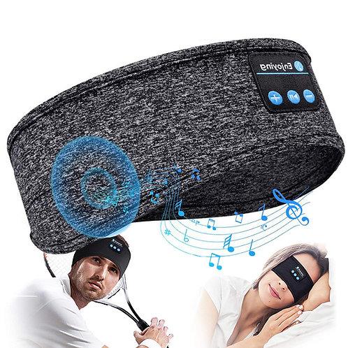 5.0藍牙音樂運動頭巾 USB充電 藍牙耳機 頭帶 髮帶 助眠 跑步 健身