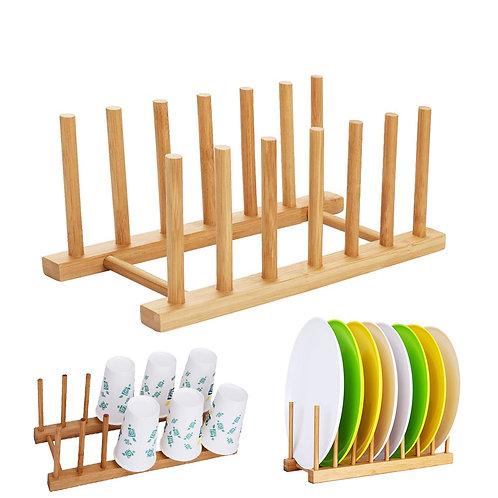 日式竹製瀝水盤架 瀝水架 杯架