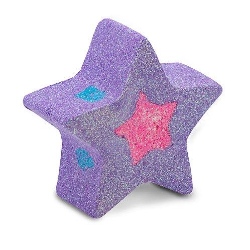 澳洲【SOAP BY ELENA】銀河漾彩沐浴球 紫色 120g