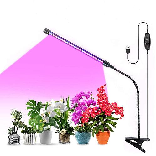 10W單管可調光調色植物生長燈 USB供電 植物燈