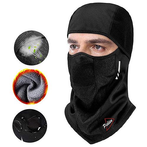 全包覆透氣運動頭套 (防風防潑水) 面罩 脖圍 頭巾