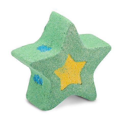 澳洲【SOAP BY ELENA】銀河漾彩沐浴球 綠色 120g